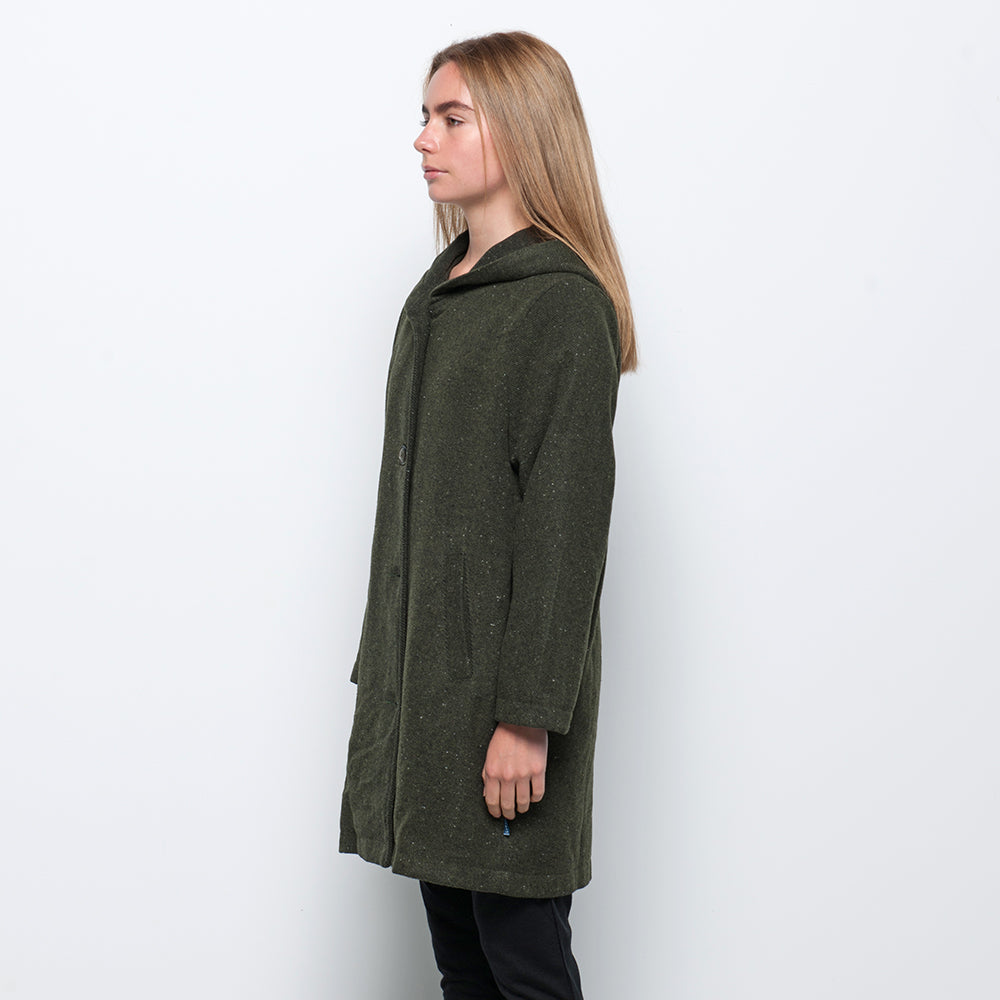 Lower Lila Coat in Green