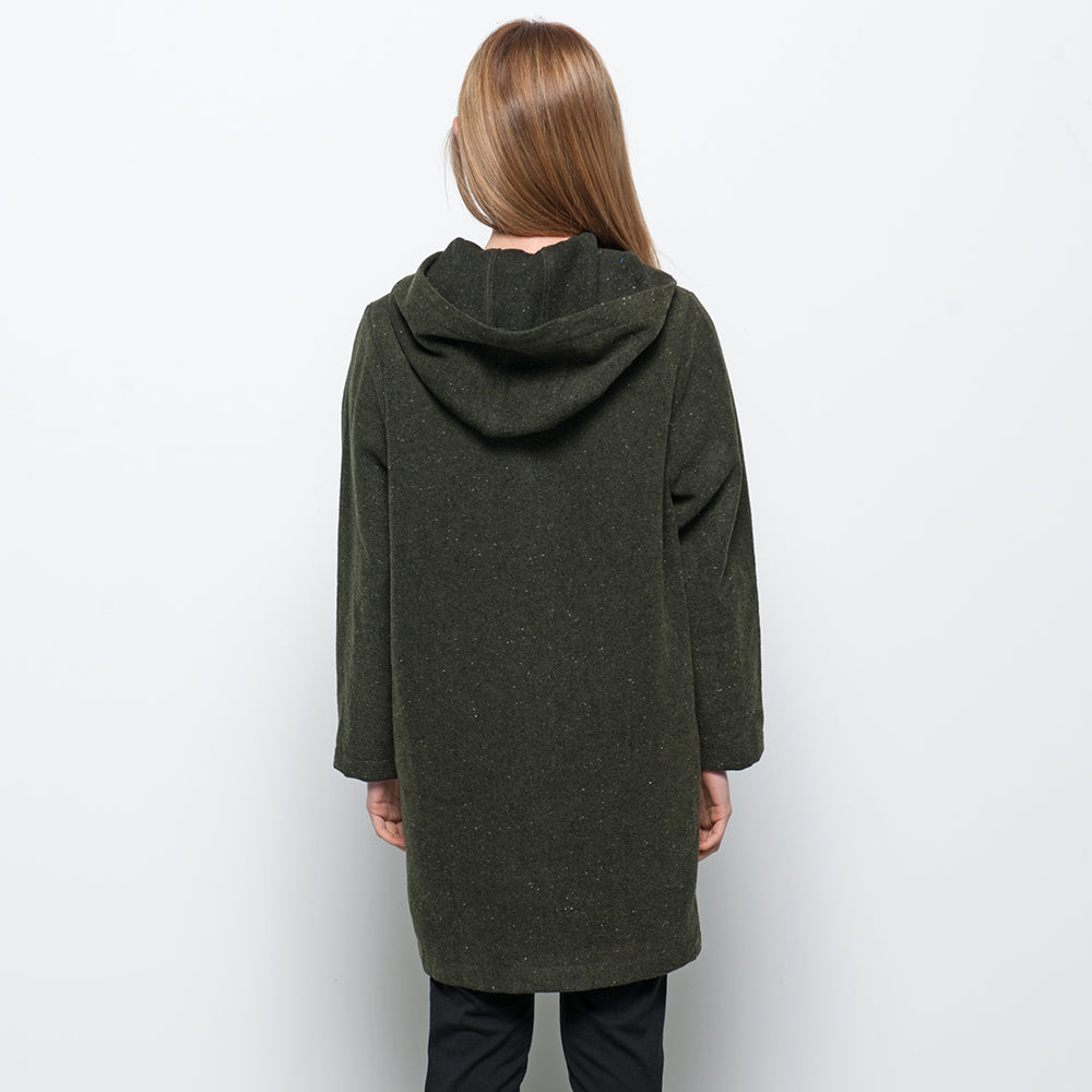 Lower Lila Coat Green