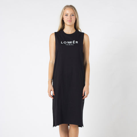 Lower Mabel Dress / Boutique - Black