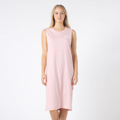 Lower Mabel Dress / Boutique - Dusty Pink
