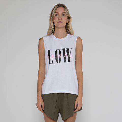 Lower Parker Tank / Formula - White