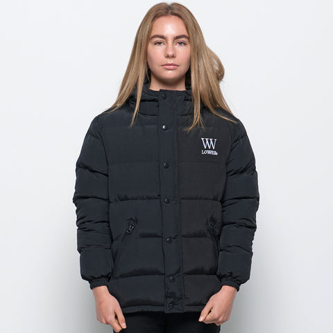 Lower Puffer Jacket - Black