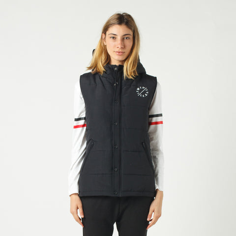 Lower Puffer Vest - Black