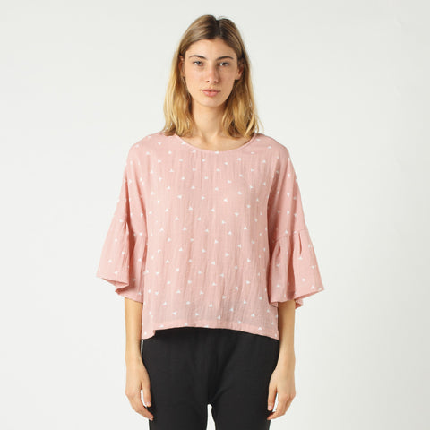 Lower Stevie Top - Pink