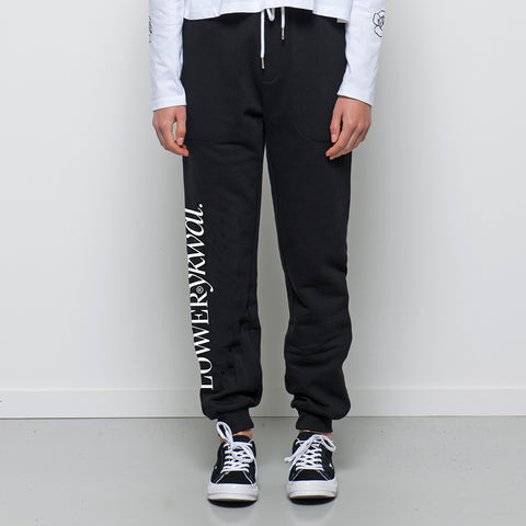 Lower Troup Trackie / Sine - Black