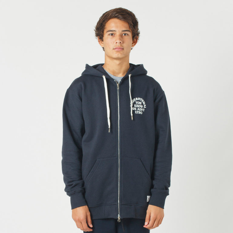 Lower Zip Hood / Bronx - Navy