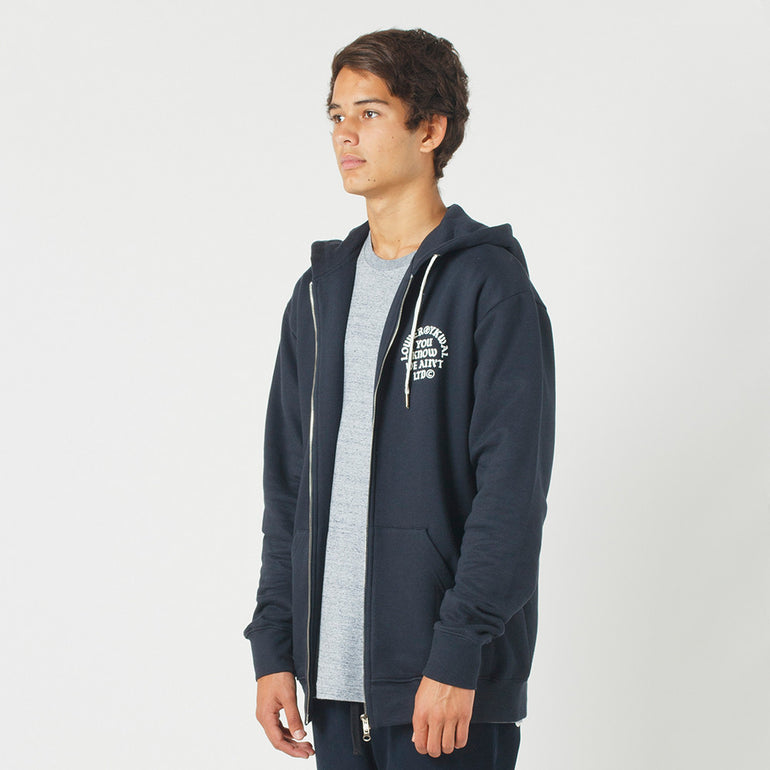 Lower Zip Hood / Bronx in Navy