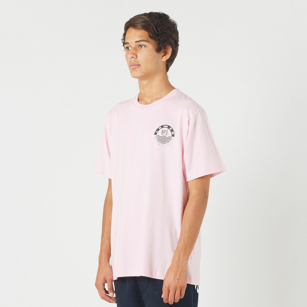 Lower QRS Tee / Jolly in Pink