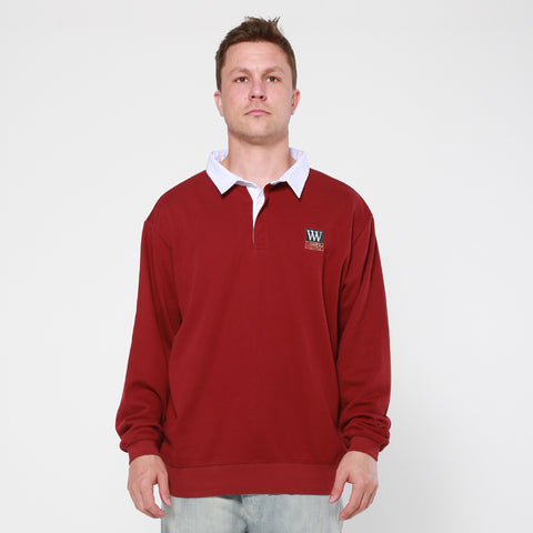 Lower Club L/S Jersey / Triple U Box - Maroon