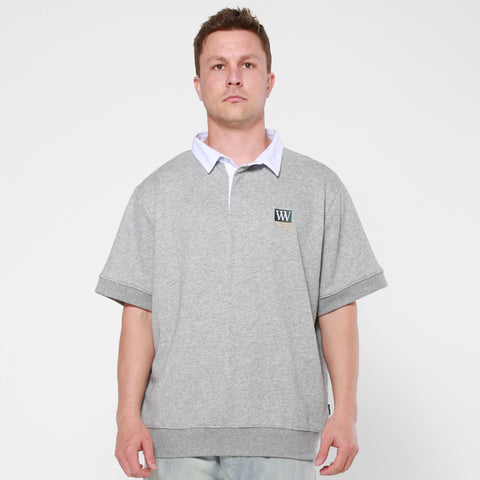 Lower Club S/S Jersey / Triple U Box - Silver Marle