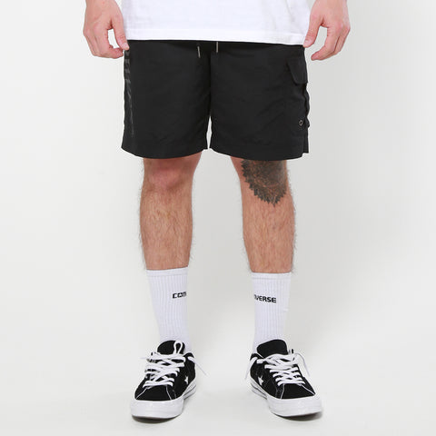 Lower Surplus Short / Slant Serif - Black