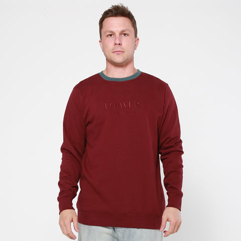Lower TD Crew / Triple U Wordmark - Maroon