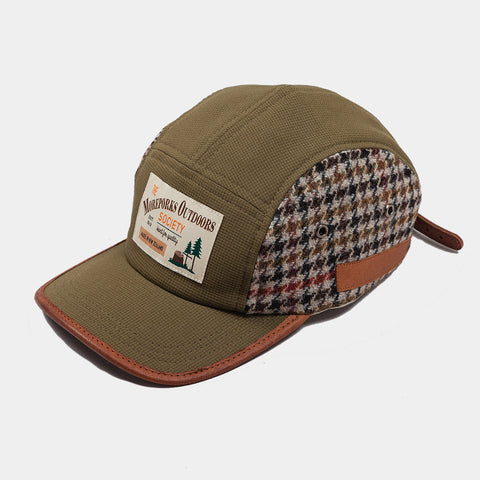 Moreporks Original Outdoors 5 Panel Cap - Green