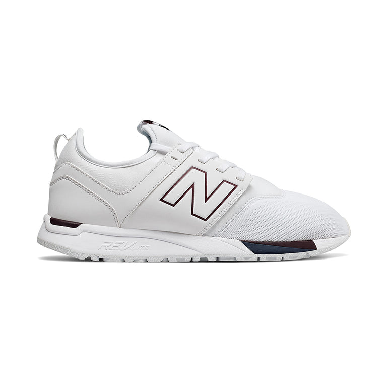New Balance Mens 247 Rev Lite in White