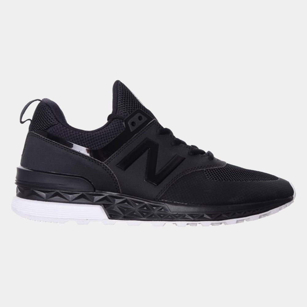 New Balance Mens 574 Sport / Black/White