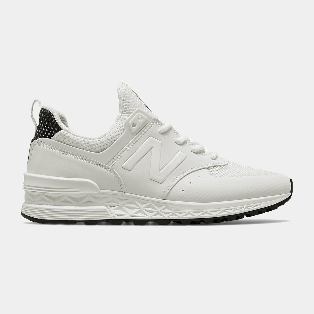 New Balance Womens 574 Sport (White)
