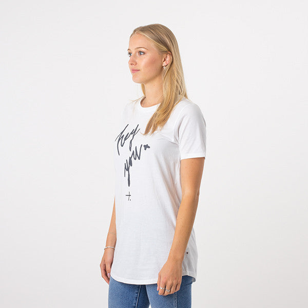 Federation Night Tee / Hey You (White)