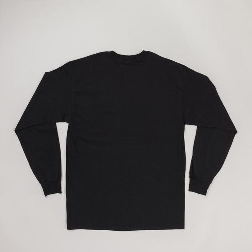 Moreporks NO. 5 Classic Full Logo L/S Tee in Black
