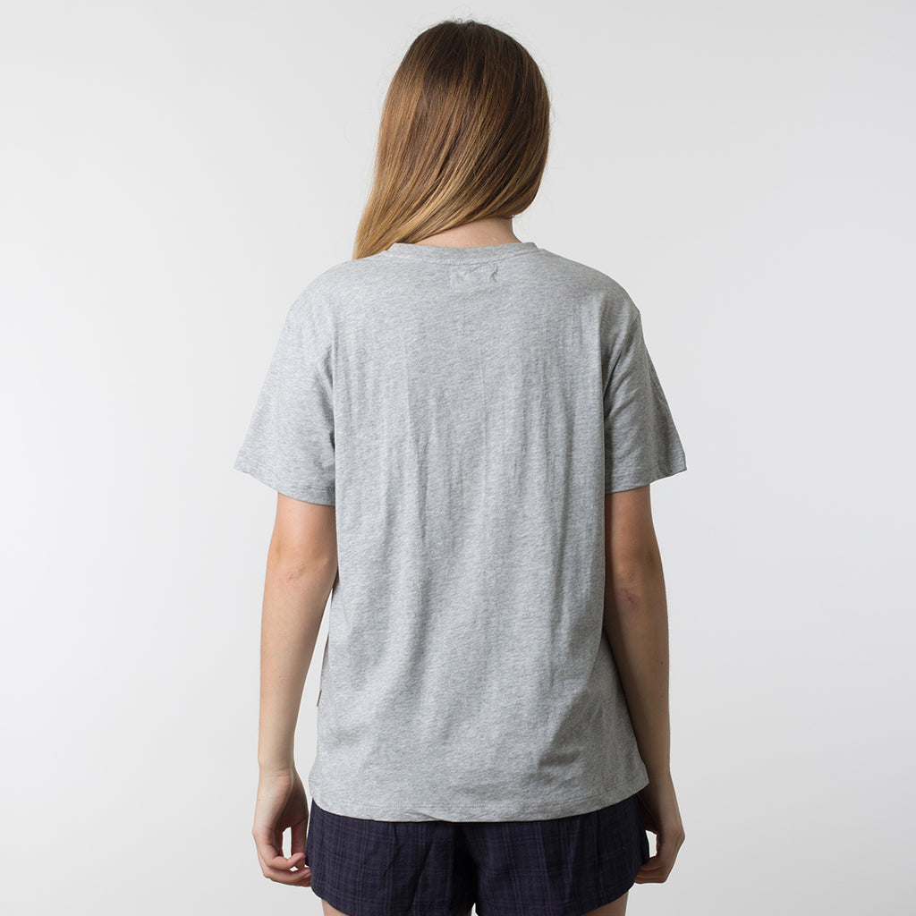 Now & Then Daily Tee / Flourish Grey Marle