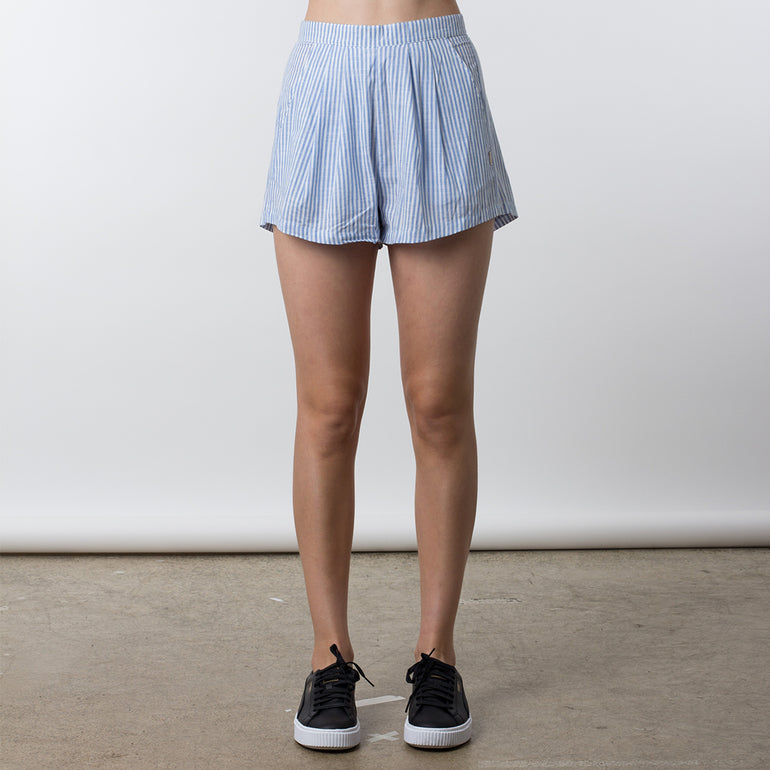 Now & Then Meg Shorts - Stripe
