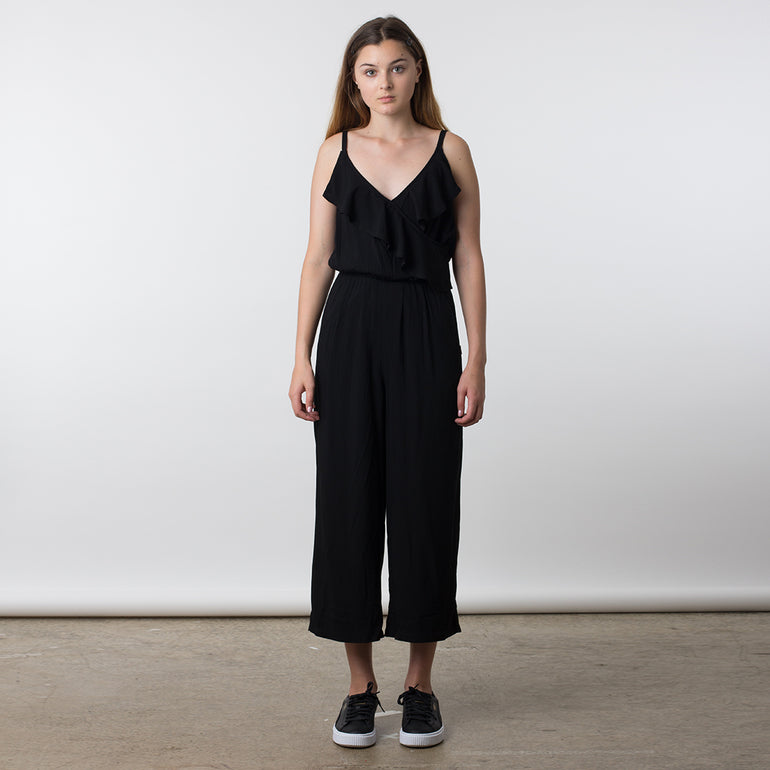 Now & Then Winona Jumpsuit - Black