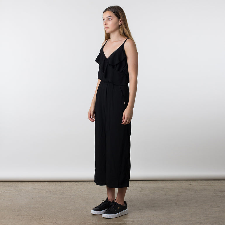 Now & Then Winona Jumpsuit in Black