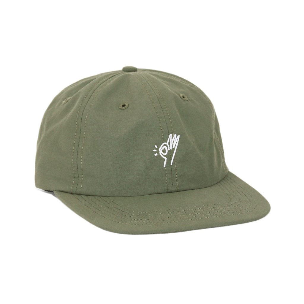 Only NY OK Polo Hat - Olive