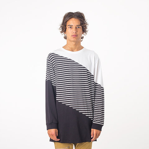 Federation Overlook L/S Tee - Black/White