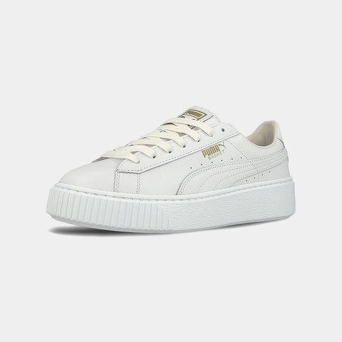 PUMA Basket Platform / Core - White Gold