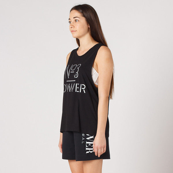 Lower Parker Tank / Platform in Black