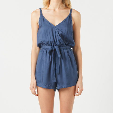 Now & Then Peggy Playsuit - Navy