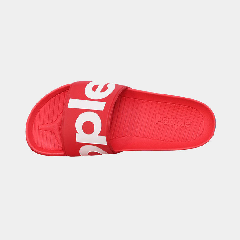 People Footwear The Lennon Slide in Supreme Red