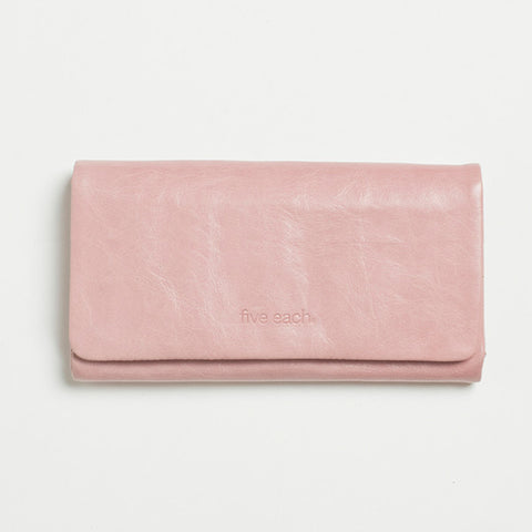 Five Each Dome Wallet - Pink