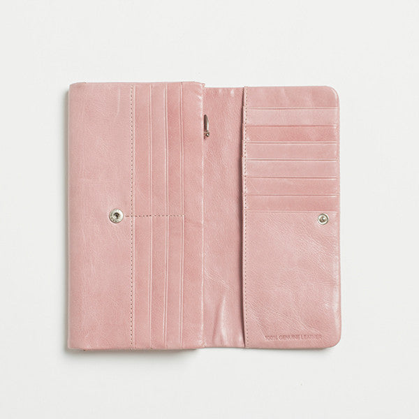 Five Each Dome Wallet (Pink)