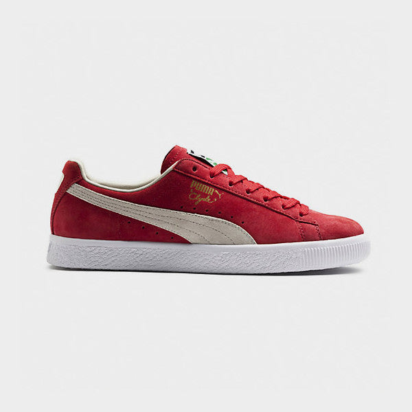 PUMA Clyde / Barbados Cherry - Whisper White