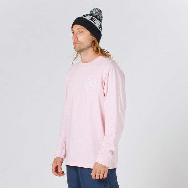 Lower QRS L/S Tee / Rotate in Pink