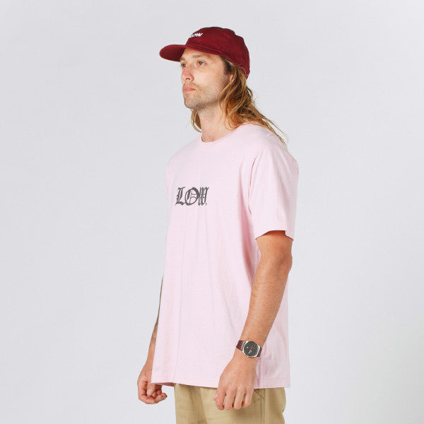 Lower QRS Tee / Cloister (Puff) in Pink