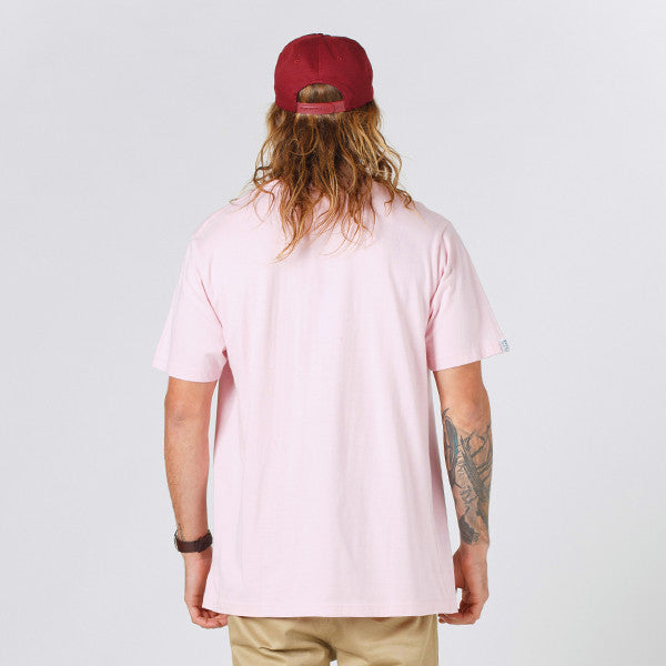Lower QRS Tee Cloister (Puff) - Pink