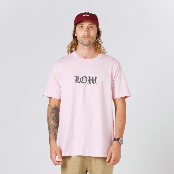 Lower QRS Tee / Cloister (Puff) - Pink