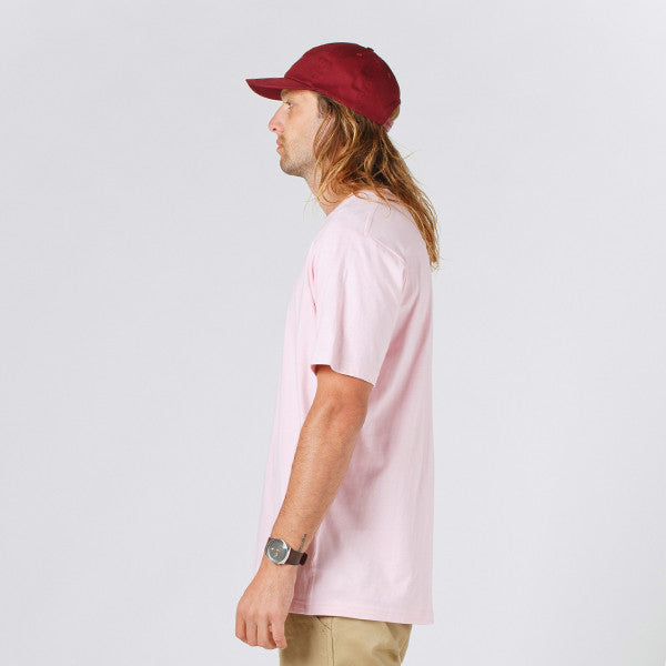 Lower QRS Tee / Cloister (Puff) Pink
