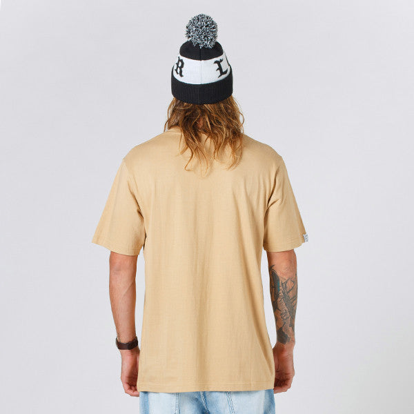 Lower QRS Tee Cloister (Puff) - Tan