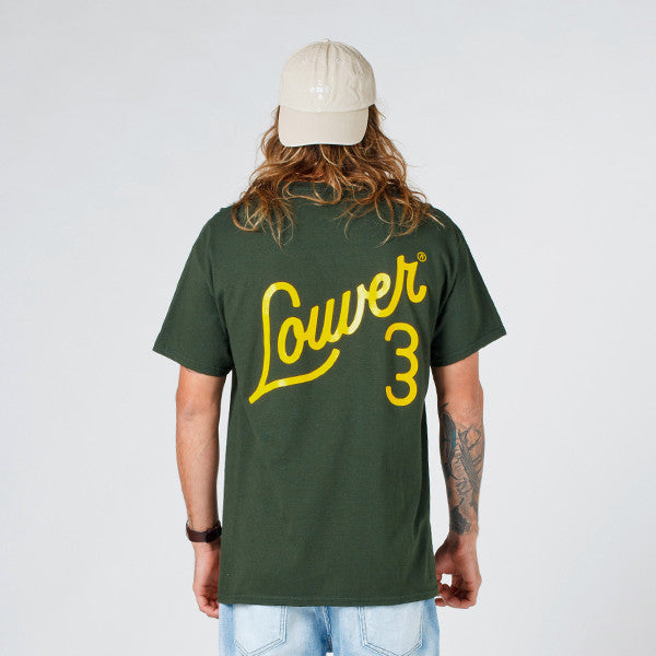 Lower QRS Tee / Ellis Forest Green