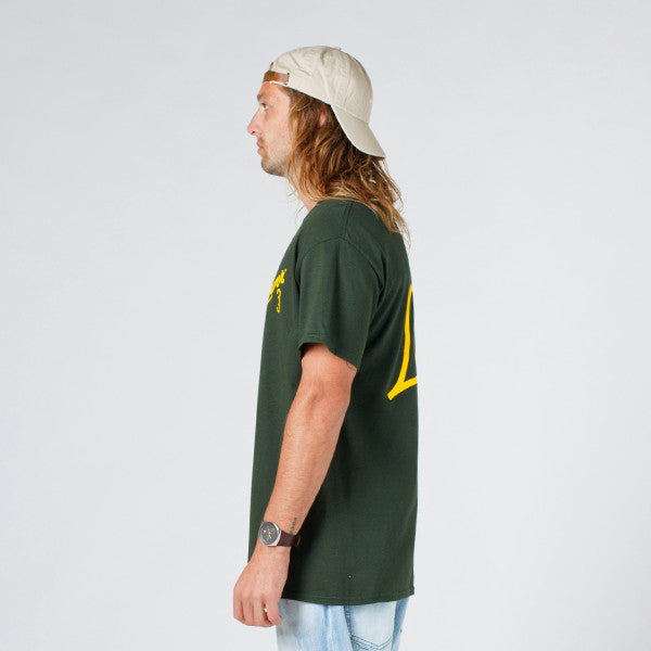 Lower QRS Tee / Ellis (Forest Green)