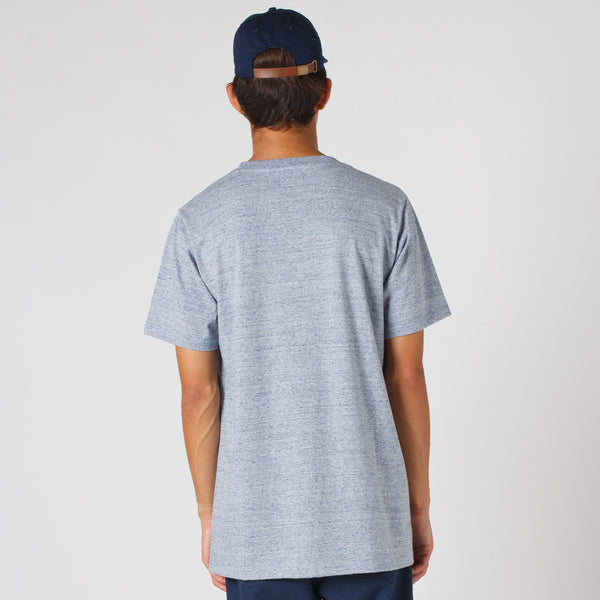 Lower / QRS Tee - LOW Puff Ink (Grey Marle)