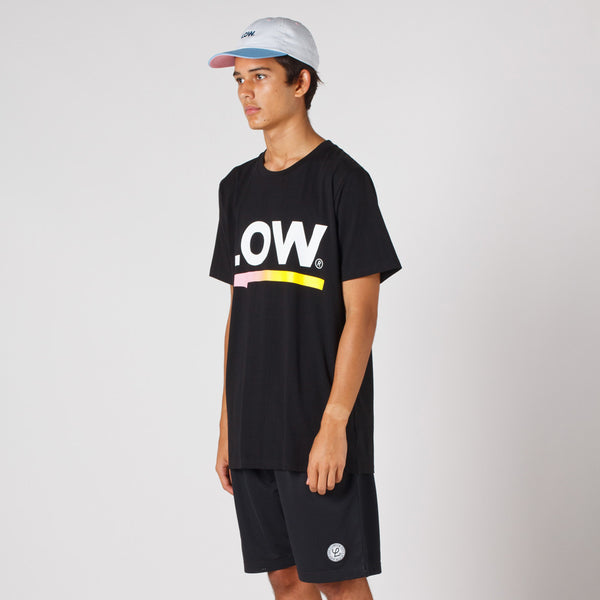 Lower QRS Tee / Select in Black