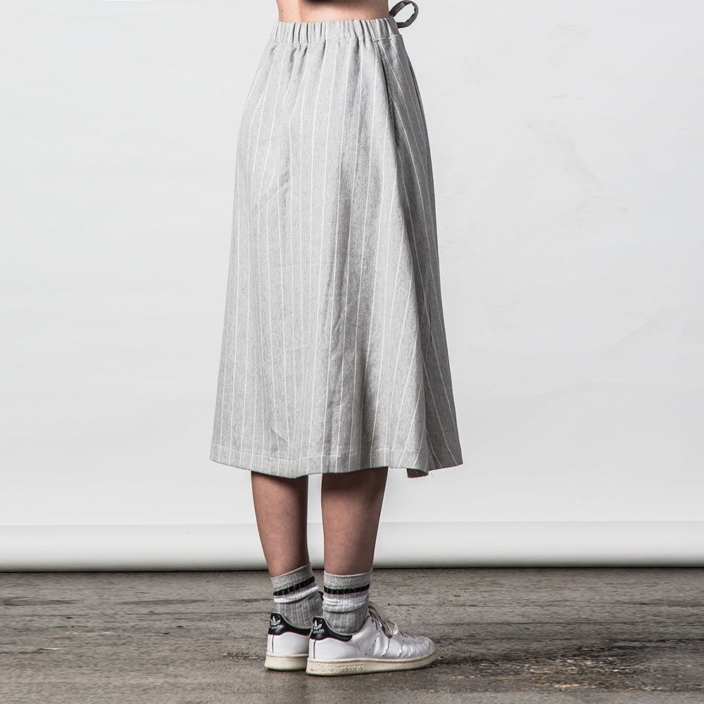Thing Thing Recent Skirt (Grey Stripe)