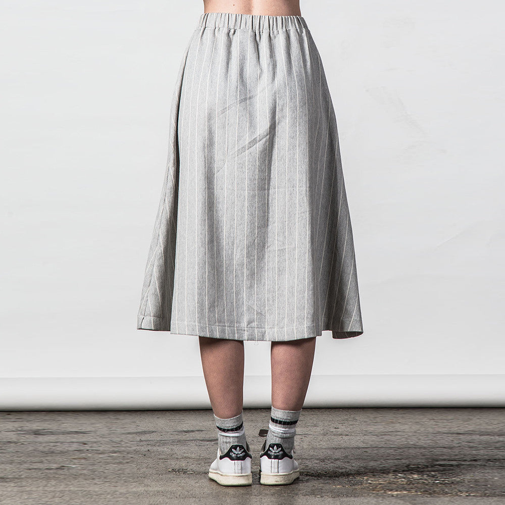 Thing Thing Recent Skirt Grey Stripe