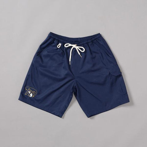 Moreporks Salmon Hunter Club Swim Shorts - Navy