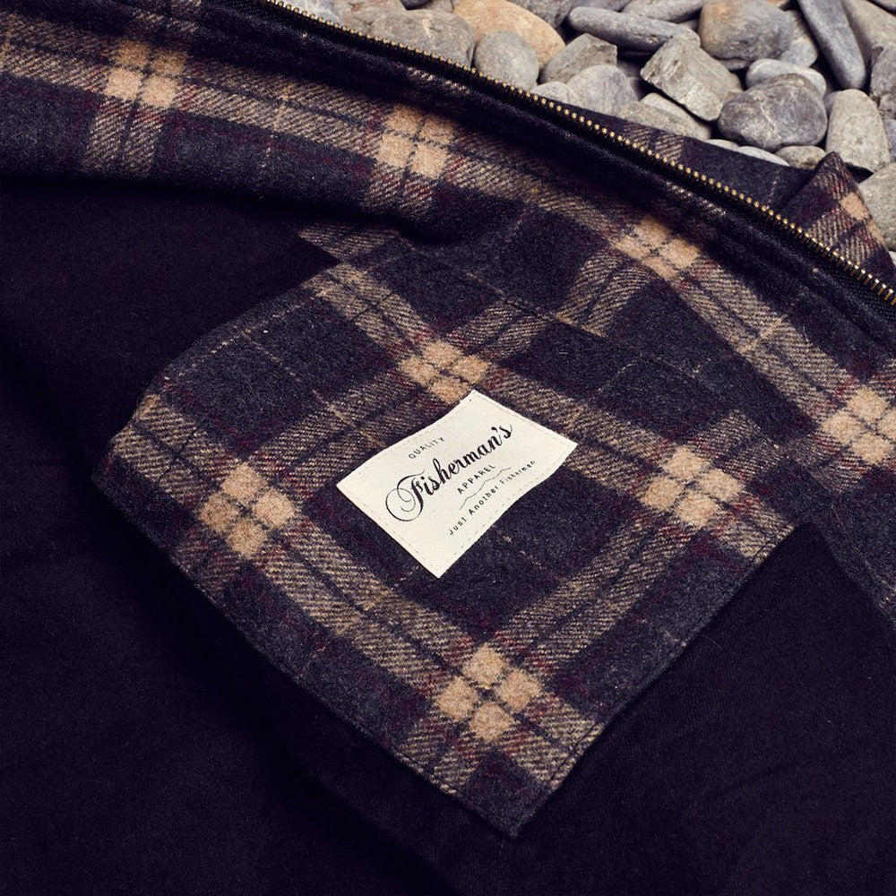 Just Another Fisherman / Shelter Wool Jacket Brown Check