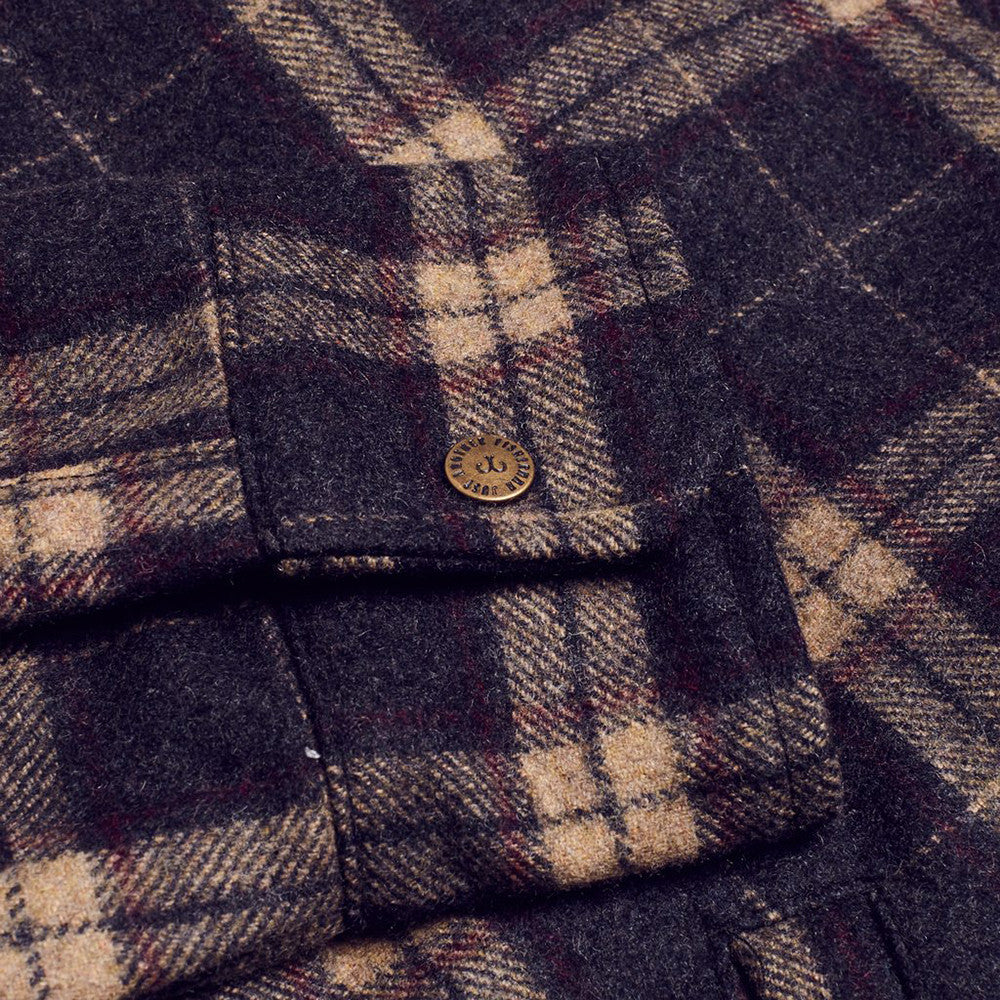 Just Another Fisherman / Shelter Wool Jacket (Brown Check)